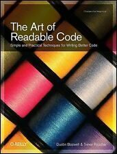 The Art of Readable Code by Trevor Foucher and Dustin Boswell (2011, Paperback)