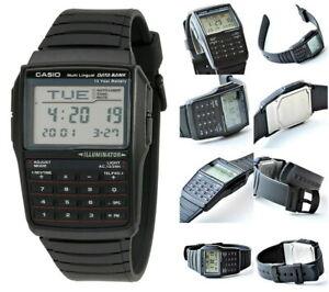 Casio Digital Men Unisex Watch New in Box DBC-32-1AES Calculator Data Bank