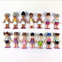 Random 5pcs LEGO Friends Fashion Girls Mini figure part Toy gift HA165