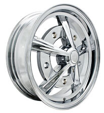 EMPI RAIDER ALL CHROME WHEEL 17x7  5X205 BUG BUS TYPE 2 GHIA, EACH 10-1091