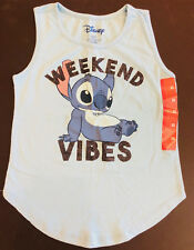 Lilo and Stitch Weekend Vibes Girls T-Shirt Tank Top Kids Youth X-SMALL XS 4/5