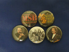 MICHAEL STANLEY BAND 5 NEW PINS Pinbacks Buttons NTT