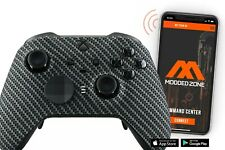 """""""Carbon"""" XBOX ONE ELITE 2 Series SMART Custom Modded Controller.Mods for FPS.COD"""
