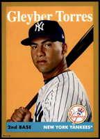 Gleyber Torres 2019 Topps Archives 5x7 Gold #84 /10 Yankees