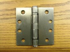 "Antique Brass 4"" x 4"" Commercial Ball Bearing Hinge"