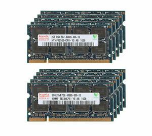 Memory Ram Laptop DDR2 PC2 2GB 4GB PC2 5300S 667 MHz SODIMM 200 PIN 2X LOT