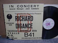 RICHARD DIGANCE – IN CONCERT Orig Transatlantic TRA SAM35 '76 LP UK FOLK M-