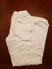 New listing Koi By Kathy Peterson Women's Scrub Cargo Pants Size X-Small Color White