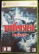 Wolfenstein (XBOX 360, COMPLETE, VGC, FAST FREE POSTAGE, AUSSIE SELLER)