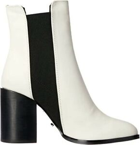 TONY BIANCO Women`s Real Leather Flash Boots Colour White Size 5 RRP$239.95