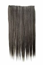 Postiche EXTENSION LARGE 5 clips dense LISSE braun-grau-mix 60 cm l30172-44