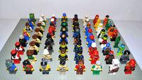 Lego Figuren 10x korrekt zusammengebaut inkl. Kopfbedeckung Space Minecraft etc.
