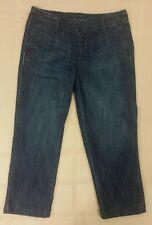 Gap Factory Women's Dark Wash Denim/Jean Capris, Size 2, Trouser Style