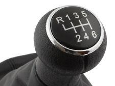 GEAR SHIFT KNOB GAITER CHROME RING - 6G FOR VW PASSAT B5 FL 00-05