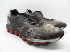 b7c79c051e4f Reebok Men s Zjet Soul Running Shoe Black Gray Size 13M