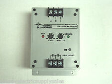 Time Mark B265 3 Phase Monitor 208/240VAC Phase-Loss,Low-Volt & Phase Reversal
