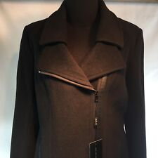 Marc New York by Andrew Marc Womens Black Wool Coat Size 10 Outerwear MW4AW799