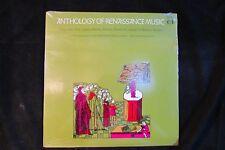 ANTHOLOGY OF RENAISSANCE MUSIC duff/des prez/lassus/morley DOVER LP SEALED