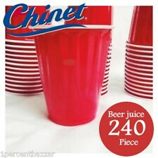 Kirkland Signature Chinet Red Drinking Beer Wine Soft Drinks Cup 18oz - 480 cups