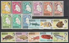 Barbuda - Mail Yvert 12/27 MNH Fauna Fish