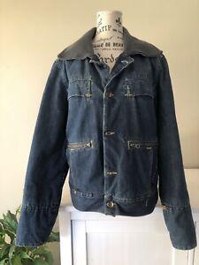 G-Star Originals Raw, Denim Jacket. Size M. Pockets, Button Up. Construct Denim