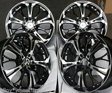 "17 "" BM GHOST CERCHI IN LEGA compatibile con MERCEDES C200 + 225/45/17"