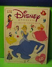 The Ultimate Disney Princess sticker book  stamp unused