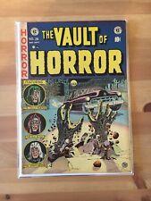 Vault of Horror 26 1950s EC Comics Johnny Craig cemetery zombie cover Pre code