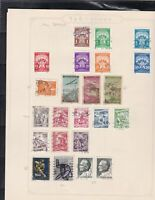 yugoslavia stamps page ref 17382
