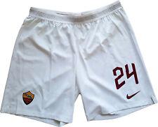 roma worn player issue florenzi #24 nike shorts 2019-2020 pantaloncini magazzino