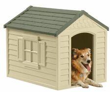 PET DOG HOUSE Large Kennel XXL Weather Shelter Durable Outdoor Puppy Vinyl Door