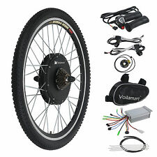 "36V 500W Electric Bicycle Cycling Ebike 26"" Conversion Kit Hub Motor Rear Wheel"