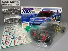 Tamiya 1/10 R/C Honda NSX '99 RAYBRIG TA03R Belt Drive 58254 with Upgrade Parts