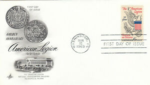 (88288) CLEARANCE USA FDC American Legion Washington 1969