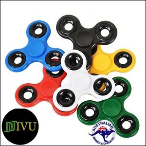 Tri Spinners 3D Fidget Hand Spinner EDC  Focus Toy ADD AD HD Anxiety For Kids