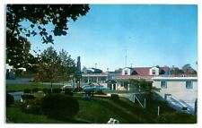 Water View Motel, Antietam Creek, Hagerstown, MD Postcard *209
