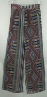BCBG MAXAZRIA Sheer Patterned Casual Pants NWT $198 Women's XS