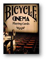 Bicycle Cinema Jugando a las Cartas Póquer Juego de Cartas Cardistry