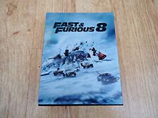 FAST & FURIOUS 8 BLU-RAY (HDZETA Exclusive Lenticular Fullslip Steelbook) OOS