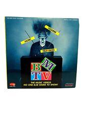 BMTV Bizarre Music Television LaserDisc~1992~Rhino Records