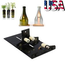 Glass Wine Bottle Cutter Craft Cutting Machine Jar DIY Kit Craft Recycle Tool US