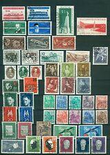 DDR Jahrgang 1957 , gestempelt , Auswahl aus Michel Nr. 559 - 615