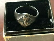 Vintage 1940's Cub Scout Sterling Silver Ring Size 5
