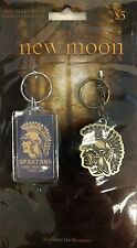 New Twilight New Moon 2 Forks High School Spartans Keychain Key Chain Ring Set