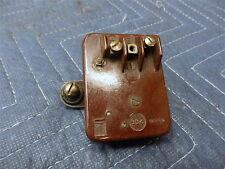VINTAGE AUTO  Ballast Resistor w/Mounting Brackets  Nice Condition