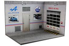 Diorama garage atelier Alpine - 1/18ème - #18-3-G-H-I-001