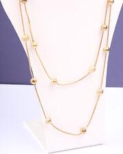 Vintage 1980s Collar de tono oro Daisy Fuentes