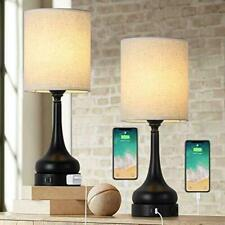 Touch Control Table Lamps Set of 2, 3-Way Dimmable...