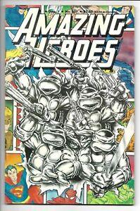 Amazing Heroes # 107 / Teenage Mutant Ninja Turtles TMNT Cover / 1986