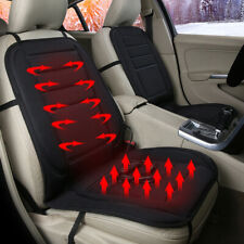 Universal Car Seat Pad Cushion Cover Heating Heater Warm Heated Cold Winter UK
